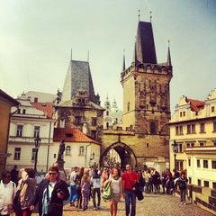 Photo taken at Staroměstská mostecká věž | Old Town Bridge Tower by 📷Svetlana B. on 4/21/2013