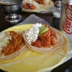 Photo taken at El Gran Gus (Tacos) by Gina C. on 7/21/2014