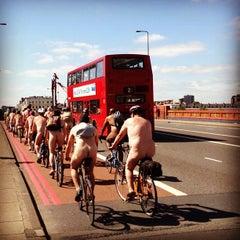 Photo taken at Vauxhall Bridge by Chris B. on 6/8/2013