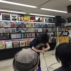 Photo taken at ディスクユニオン 下北沢店 by Iwasaku T. on 10/4/2015