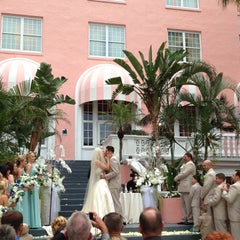 Photo taken at Loews Don CeSar Hotel by Ansley B. on 4/21/2013