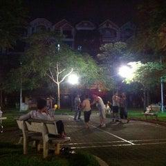 Photo taken at Vườn hoa Trung Yên by Na z. on 7/24/2013