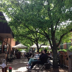 Photo taken at Westover Market Beer Garden by Mark B. on 5/4/2013