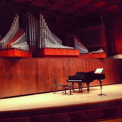 Photo taken at Paul Recital Hall at Juilliard by Tokuyuki K. on 3/25/2013