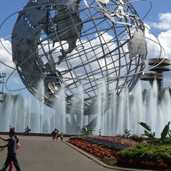 Photo taken at New York Hall of Science by Patrick V. on 8/4/2013