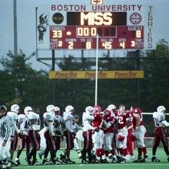Photo taken at Nickerson Field by Boston University on 12/18/2012