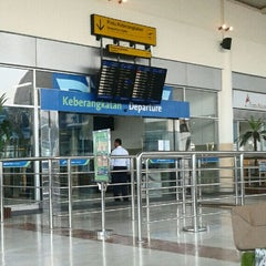 Photo taken at Lombok International Airport (LOP) by Zulfikar G. on 2/7/2013