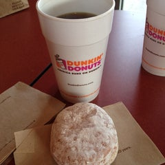 Photo taken at Dunkin' Donuts by Amy C. on 5/24/2014