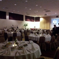 Photo taken at Park Inn by Radisson Kaunas by andres m. on 11/3/2012