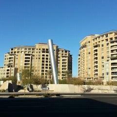 Photo taken at Soleri Bridge & Plaza by Rosario S. on 1/14/2013