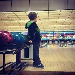 Photo taken at Buffaloe Lanes South Bowling Center by Jenn A. on 1/17/2015