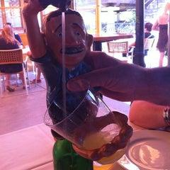 Photo taken at Restaurante Sidrería El Horreo by Yeray M. on 6/8/2014