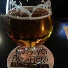 Photo taken at Two Brothers Tap House by Sean W. on 4/18/2013
