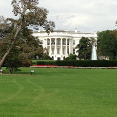 Photo taken at South Lawn - White House by Ty T. on 10/3/2012
