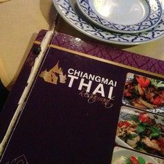 Photo taken at Chiangmai Thai by Wendy M. on 3/2/2013