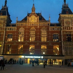 Photo taken at Station Amsterdam Centraal by Jan V. on 3/3/2013