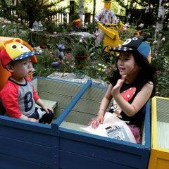 Photo taken at 허브나라 농원 / Herbnara Farm by 이 동. on 5/25/2015