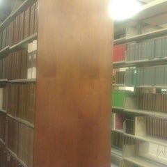 Photo taken at Blume Library by Paty T. on 12/4/2013
