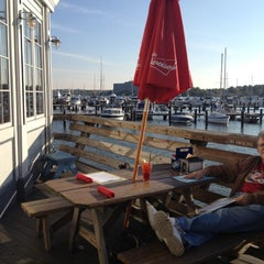 Photo taken at Nick's Fish House by Melinda P. on 10/17/2012