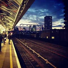 Photo taken at Shadwell DLR Station by Joana on 3/13/2013
