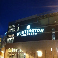 Photo taken at Huntington Center by Kiwi on 11/17/2012