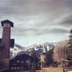 Photo taken at Teton Village by Lucky A. on 5/3/2013