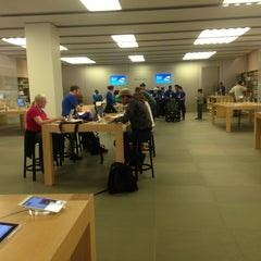 Photo taken at Apple Store, Beverly Center by Ginger M. on 3/15/2013
