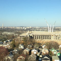 Photo taken at Sheraton Pentagon City Hotel by Lawrence R. on 4/2/2013