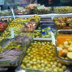 Photo taken at Mercado Villa de Vallecas by Isabel S. on 12/1/2012