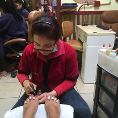 Photo taken at Grand Nails by Trina F. on 11/15/2015