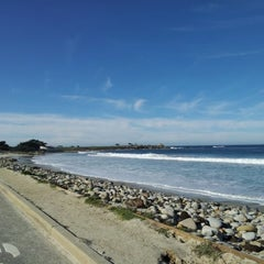 Photo taken at 17 Mile Drive by SoyeonKimberly K. on 12/31/2012