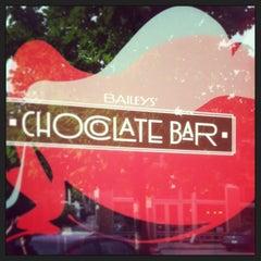 Photo taken at Baileys' Chocolate Bar by Jennifer H. on 5/22/2013