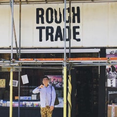 Photo taken at Rough Trade Records (West) by Sazz on 6/4/2015