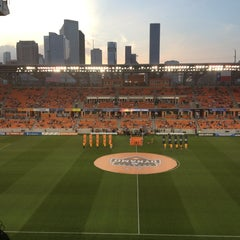 Photo taken at BBVA Compass Stadium by Lorena O. on 3/31/2013