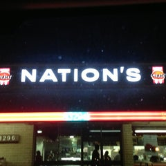 Photo taken at Nation's Giant Hamburgers by Eric Y. on 7/5/2013