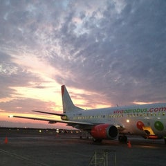Photo taken at Aeropuerto Internacional de Monterrey General Mariano Escobedo (MTY) by Diego L. on 7/3/2013