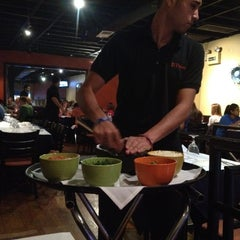 Photo taken at El Patron Mexican Grill by Kitman L. on 9/16/2012