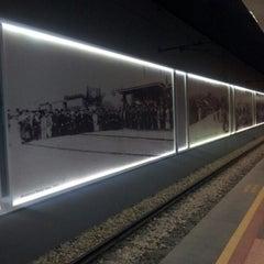 Photo taken at Osmangazi Metro İstasyonu by 🌟tarik ☕. on 11/27/2012