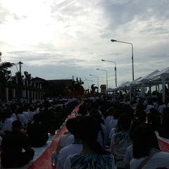 Photo taken at วัดหลวง (Wat Luang) by จิรพล ช. on 7/16/2014