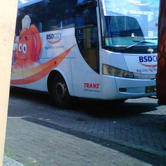 Photo taken at Terminal Feeder Busway Trans BSD by Re N. on 6/22/2013