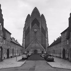 Photo taken at Grundtvigskirken by Maxime D. on 7/12/2015