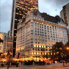 Photo taken at The Plaza Hotel by Lena Yujung L. on 10/27/2012