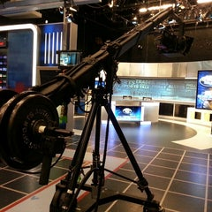 Photo taken at Comcast SportsNet Studio by Mark L. on 9/10/2013