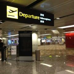 Photo taken at Changi Airport Terminal 1 by Tintin P. on 3/8/2013