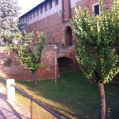 Photo taken at Castello Visconteo by Antonella A. on 10/5/2013