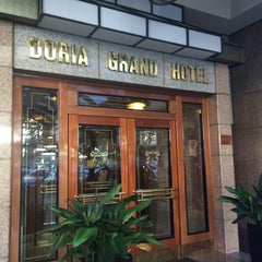 Photo taken at Doria Grand Hotel by Antonella A. on 10/22/2014