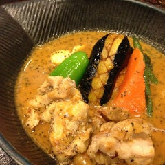 Photo taken at Soup Curry lavi エスタ(ESTA)店 by Shiho T. on 2/4/2013