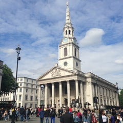 Photo taken at St Martin-in-the-Fields by MeL on 6/16/2013