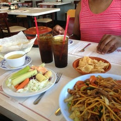Photo taken at Golden Palace Mongolian BBQ by CJ H. on 6/28/2013