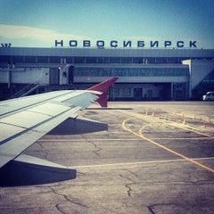 Photo taken at Международный аэропорт Толмачёво / Tolmachevo International Airport (OVB) by Андрей М. on 6/24/2013